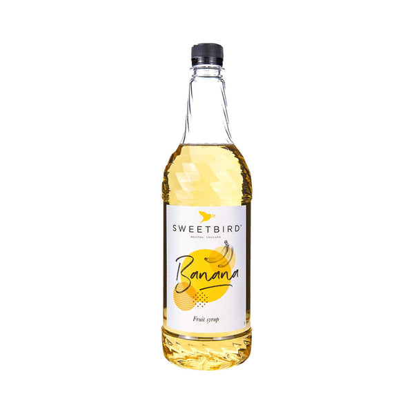 Sweetbird Banana Syrup - 1 Litre Bottle