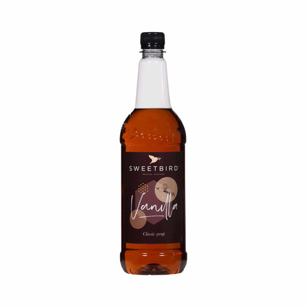 Sweetbird Vanilla Coffee Syrup - 1 Litre Bottle