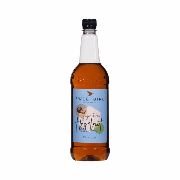 Sweetbird Sugar-Free Hazelnut Coffee Syrup - 1 Litre Bottle