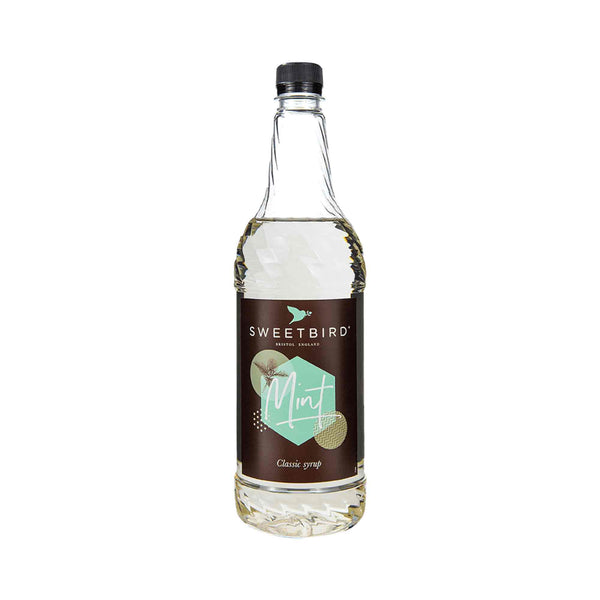 Sweetbird Mint Syrup - 1 Litre Bottle