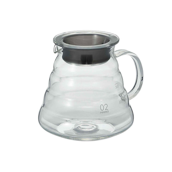 Hario V60 02 Clear Glass Range Server - 600ml