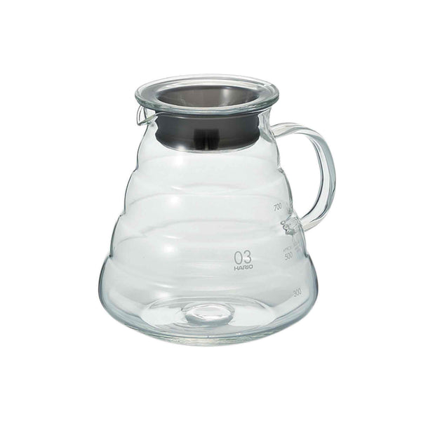 Hario V60 03 Clear Glass Range Server - 800ml
