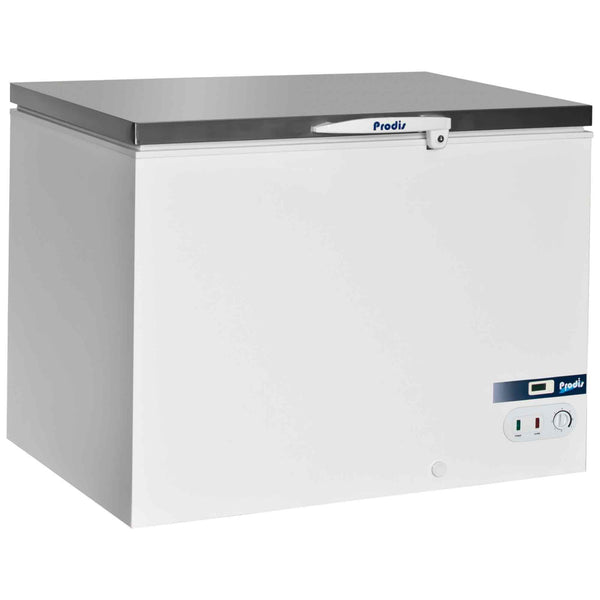 Prodis Arctic AR350SS, Stainless Steel Lid Chest Freezer, 350 Litres, 5 Year Full Warranty