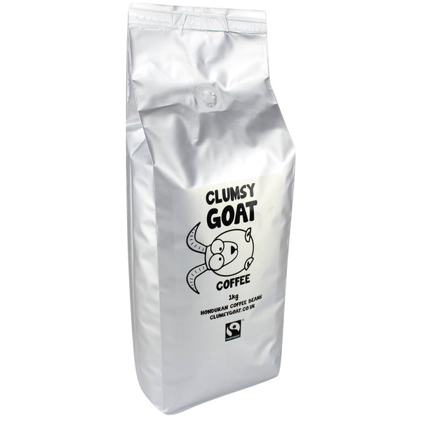 Clumsy Goat Fairtrade Honduran Coffee Beans - 100% Arabica