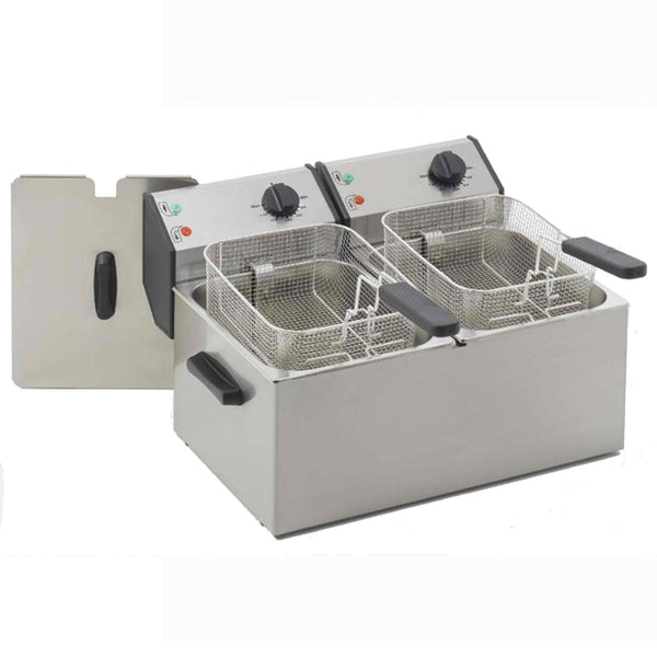 Roller Grill Deep Fat Fryer Counter Top - Electric - 540w x 425d x 320h - FD80D