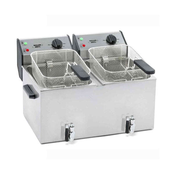 Roller Grill Deep Fat Fryer Counter Top - Electric - 590w x 450d x 360h - FD80DR