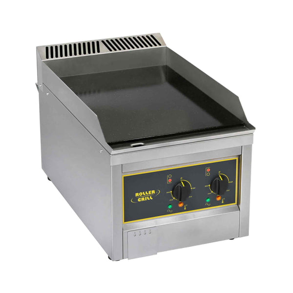 Roller Grill Enamelled Steel Griddle - Electric - 400w x 700d x 400h (mm) - GSE600