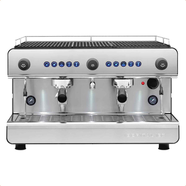 Iberital IB7 Commercial Espresso Machines - 1, 2 & 3 Group Models Available