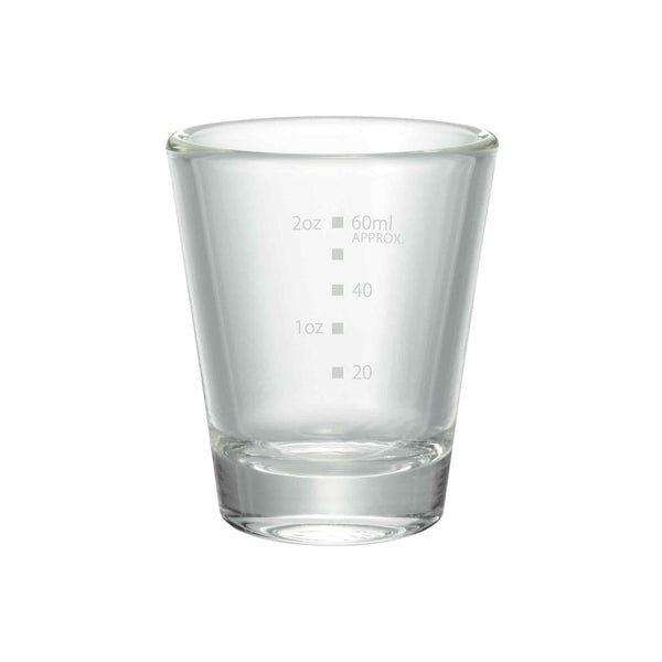 Hario Espresso Shot Glass With Markings - 2oz / 60ml