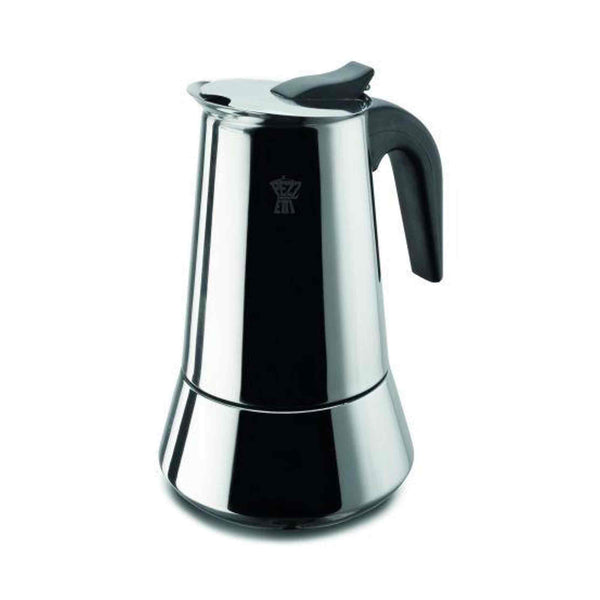 Pezzetti Steelexpress Stove Top Moka Pot - 4 Cup