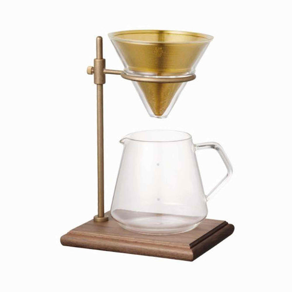 Kinto SCS-S02 Pour Over Brewer Stand Set - 4 Cup