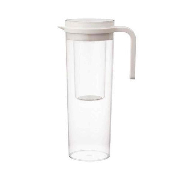 Kinto Plug Iced Tea Serving Jug - White - 1.2 Litres
