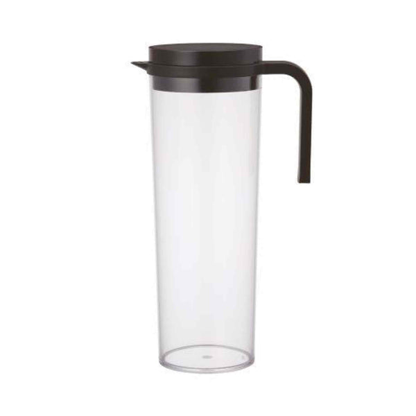 Kinto Plug Water Serving Jug - Black - 1.2 Litres