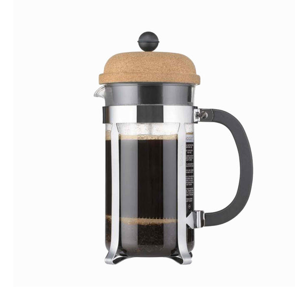 Bodum Chambord Coffee Maker 1l - 8 Cup - Cork Lid