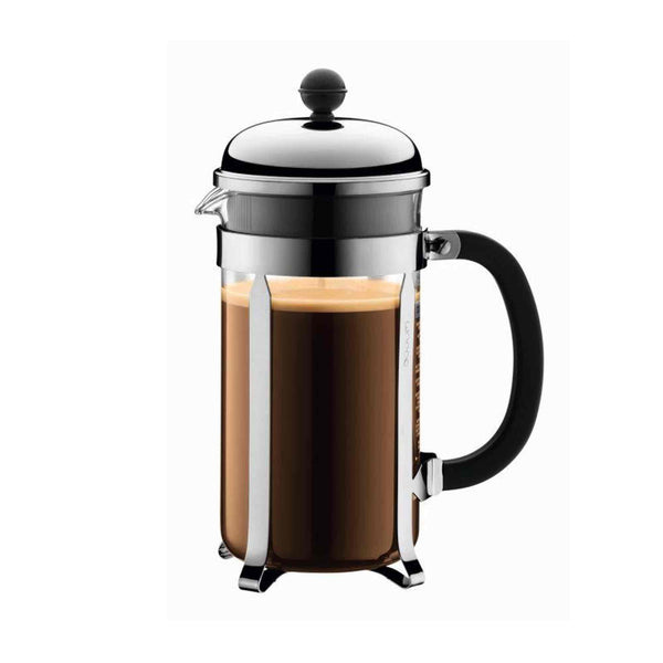 Bodum Chambord Coffee Maker 1l - 8 Cup - Stainless Steel