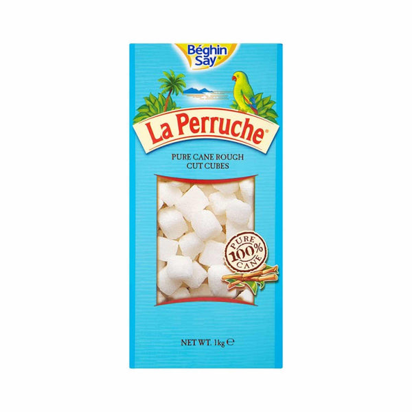 La Perruche Pure Cane Rough Cut White Sugar Cubes 1kg