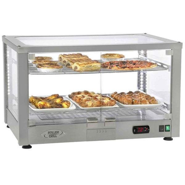 Roller Grill Horizontal Heated Display Unit - 780w x 490d x 480h - WD780S