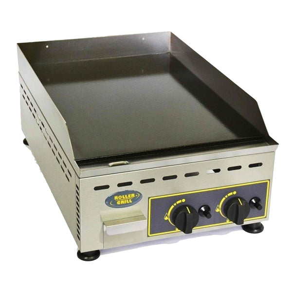 Roller Grill Enamelled Steel Griddle - Gas - 400w x 700d x 230h (mm) - PGD700