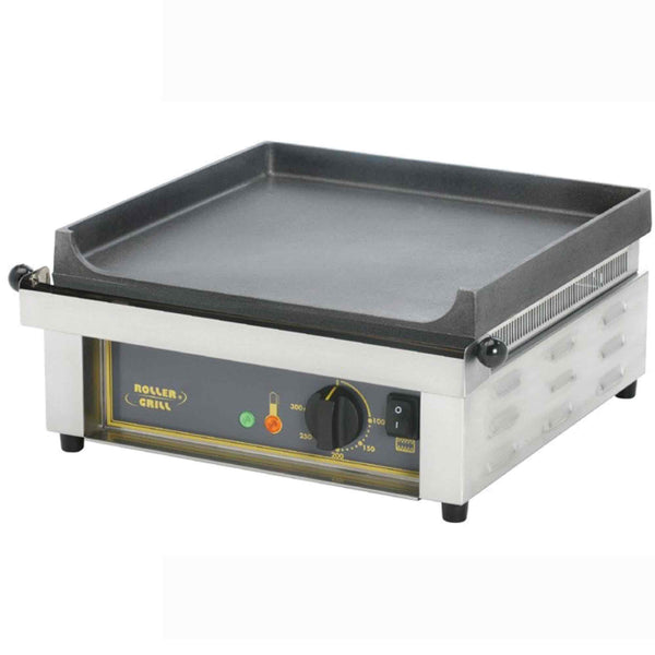 Roller Grill Cast Iron Griddle - Electric - 400w x 475d x 230h (mm) - PSF400E