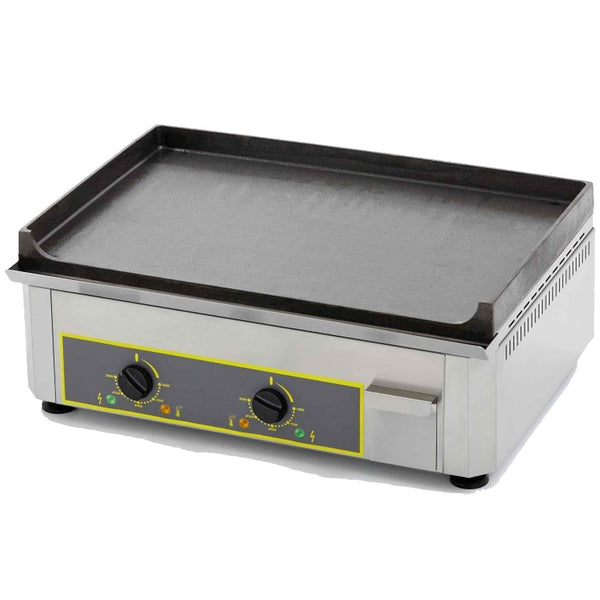 Roller Grill Stainless Steel Griddle - Electric - 600w x 450d x 190h (mm) - PSF600E