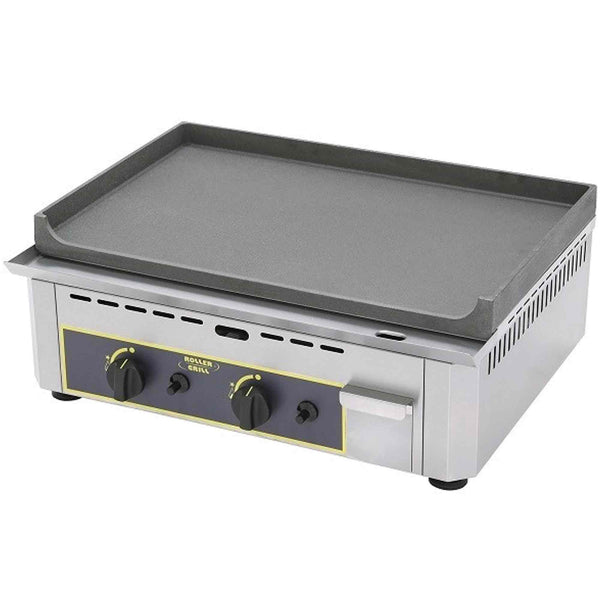 Roller Grill Cast Iron Griddle - Gas - 600w x 475d x 230h (mm) - PSF600G