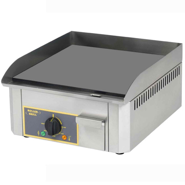 Roller Grill Steel Griddle - Electric - 400w x 475d x 230h (mm) - PSR400E