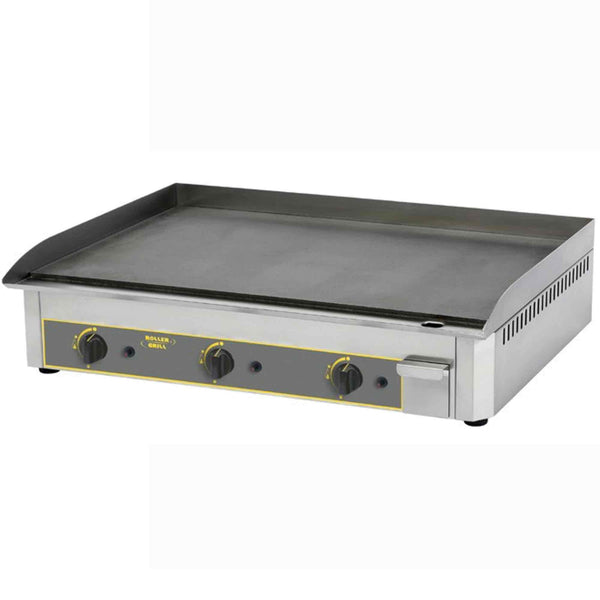 Roller Grill Steel Griddle - Gas - 900w x 475d x 230h (mm) - PSR900G