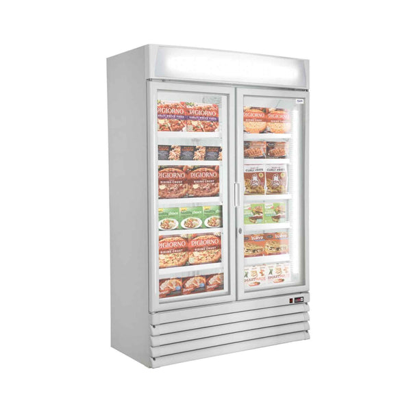 Prodis XD2NW Double Door Heavy Duty Shop Display Freezer