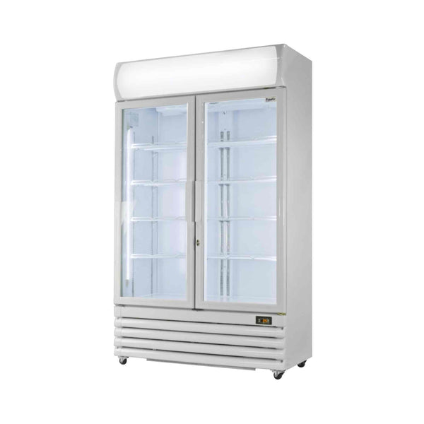 Prodis XD701 Double Door Tall Shop Display Fridge