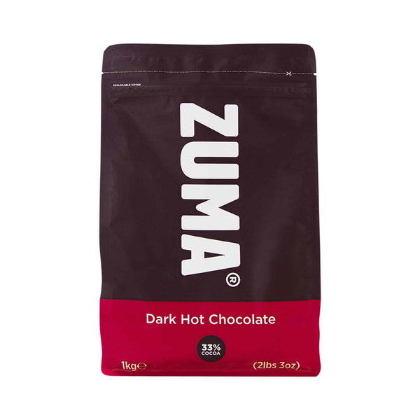 Zuma Dark Premium Hot Chocolate 33% Cocoa 1kg