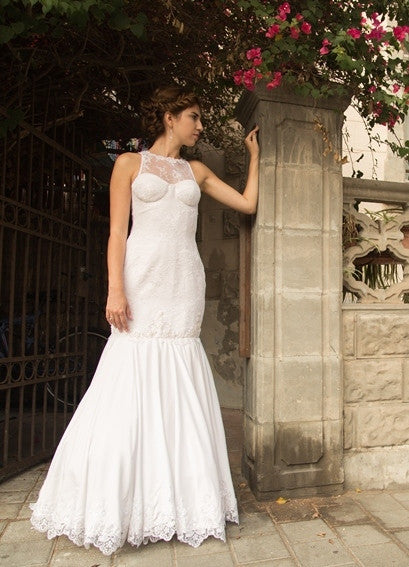 Pattern: Low-Back Wedding Dress with a Bodice Base, Pattern, Corset Academy