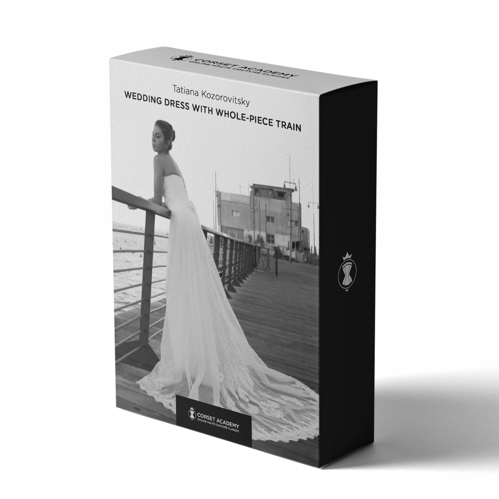 Video Course: Wedding Dress with Whole-Piece Train, Video Course, Corset Academy