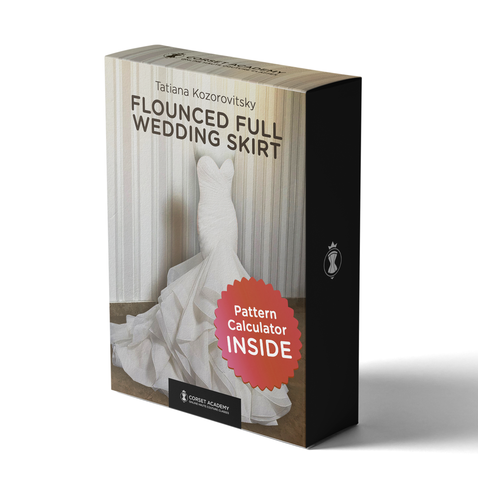 Video Course: Flounced Full Wedding Skirt, Video Course, Corset Academy