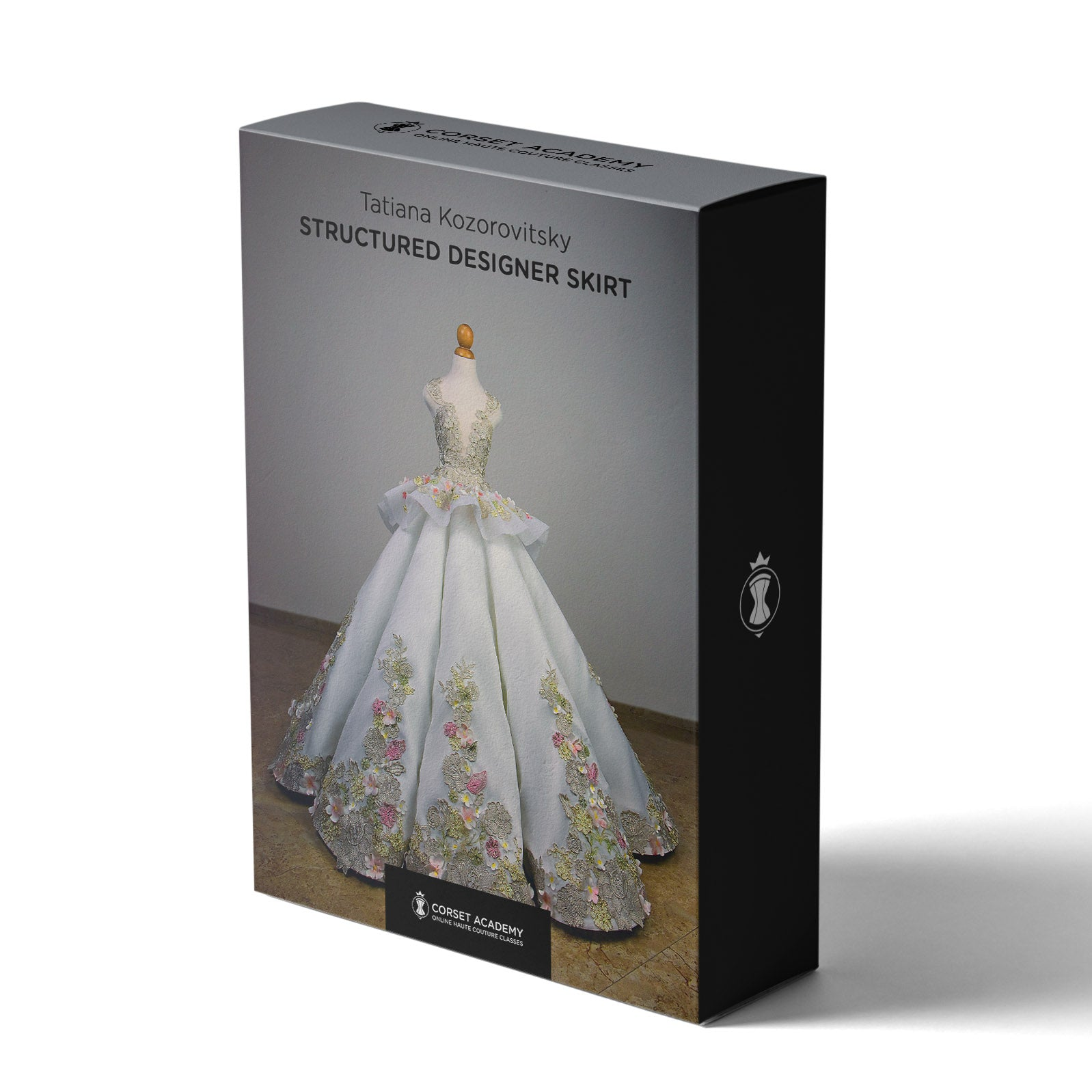 Video Course: Structured Designer Skirt, Video Course, Corset Academy