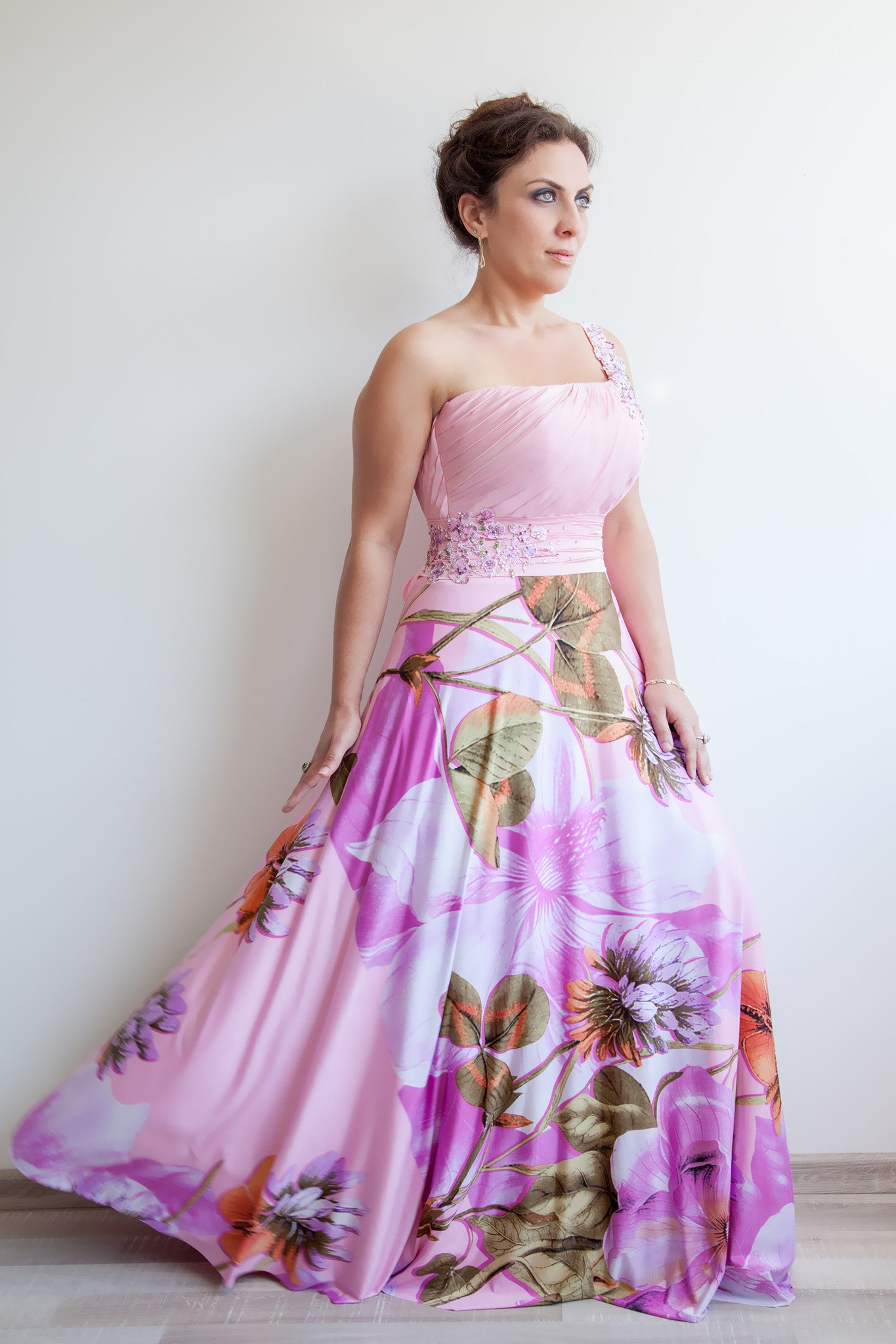 Pattern: Plus Size Dress with a Strap
