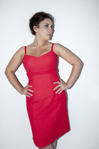 Pattern: Plus Size Dress with Hidden Lacing, Pattern, Corset Academy