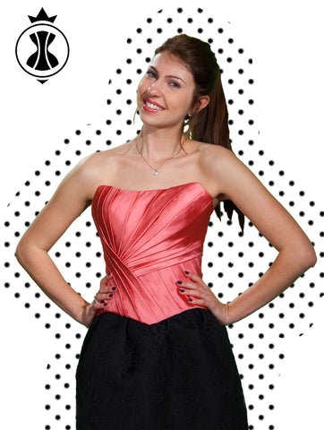 Pattern: Corset with Drapery