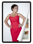eBook: Plus Size Dress with Hidden Lacing