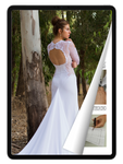 eBook: Wedding Dress with Sleeves
