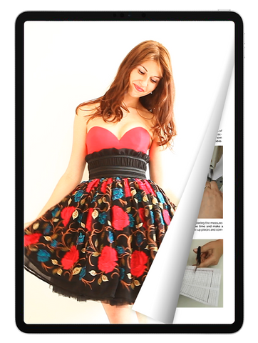 eBook: Cupped Dress with Full Skirt