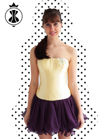 Pattern: Corset in a Simplified Technique