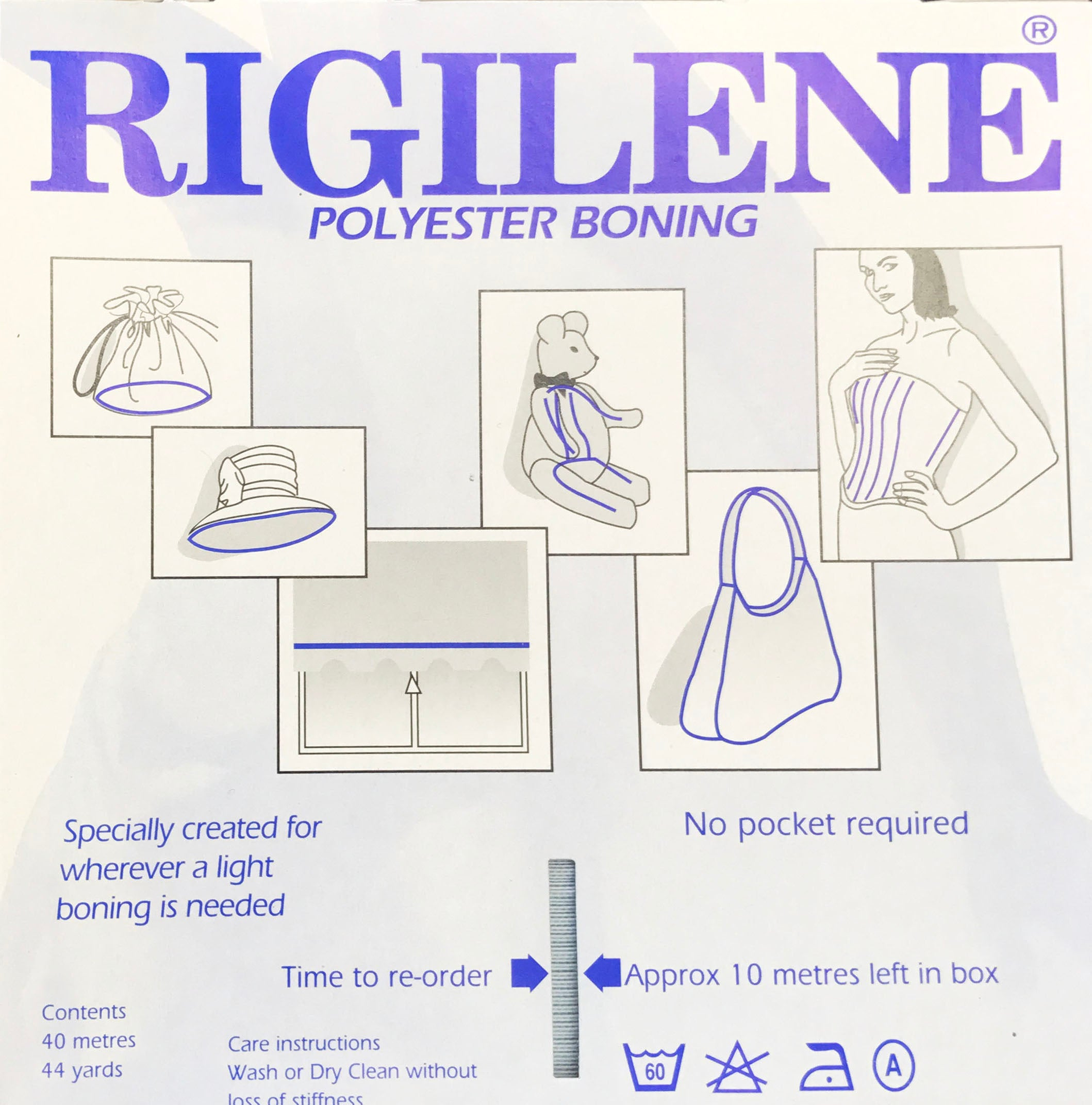 Curving Rigilene Boning (8mm), Supplies, Corset Academy