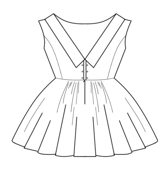 Video Course: Crew-Neck Dress with Full Skirt, Video Course, Corset Academy