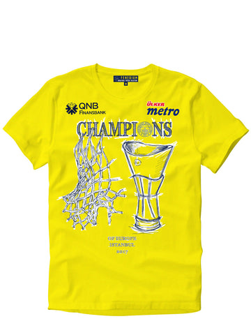 CHAMPIONS OF EUROPE T-SHIRT (REKLAMLI)