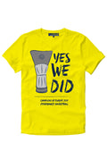 BASKET YES WE DID T-SHIRT
