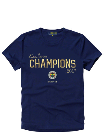 EUROLEAGUE CHAMPIONS OF 2017 T-SHIRT