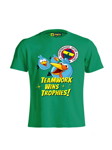 A.BIRDS TEAMWORK WINS T-SHIRT