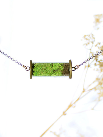 Penne Terrarium Necklace