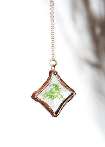 Burst Copper Necklace
