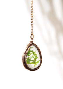 Teardrop Necklace Copper